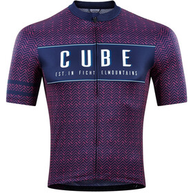 Cube Blackline 2020 SS Jersey Men blue´n´pink